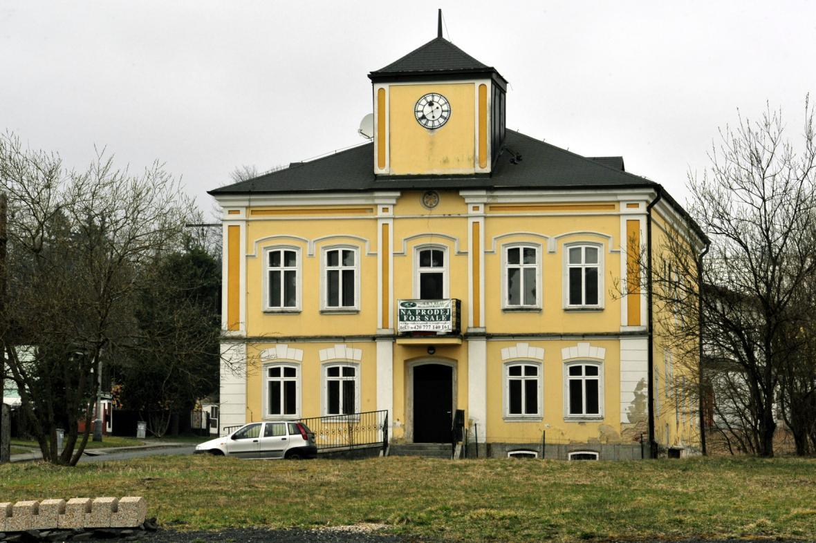 Budova bývalé radnice v Pramenech