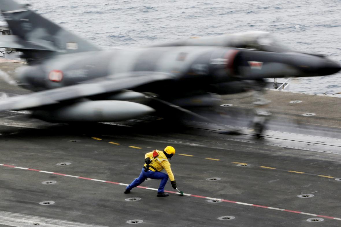 Francouzský bojový letoun