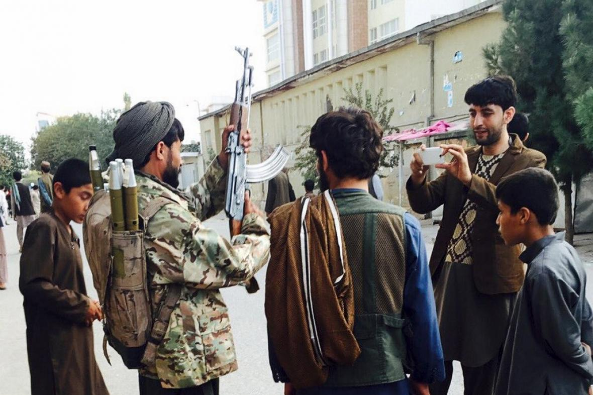 Taliban v Kunduzu