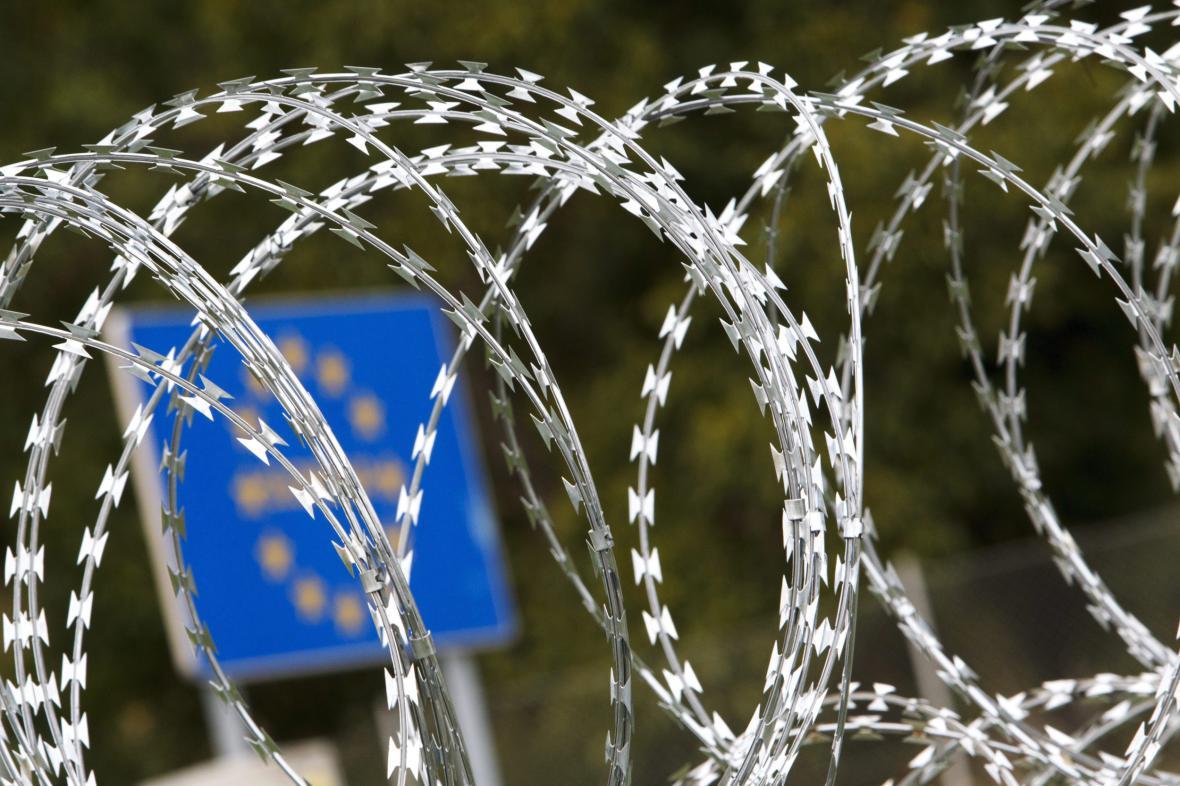 Plot na hranici Maďarska