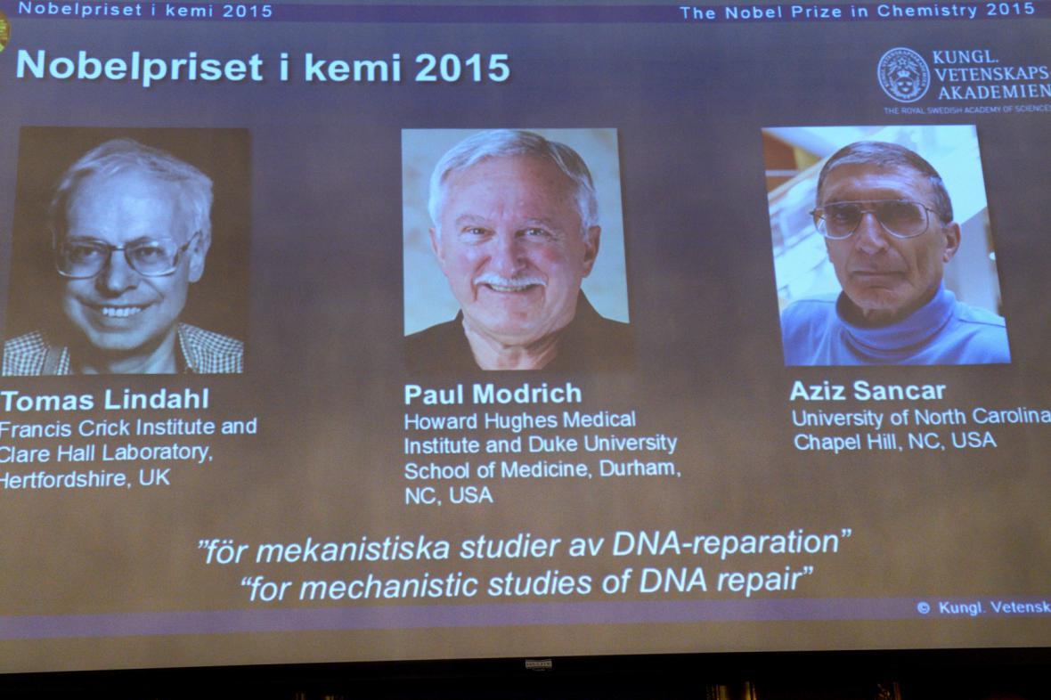 Nositelé Nobelovy ceny za chemii