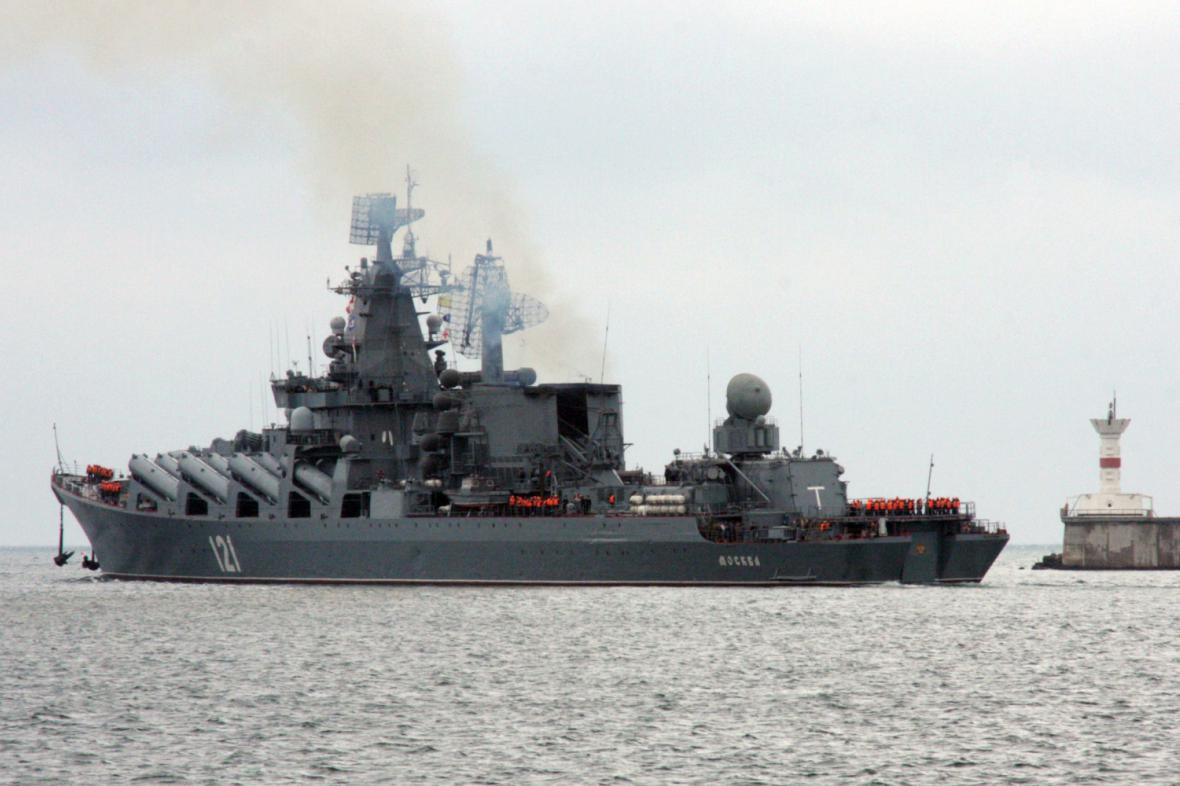 Ruská válečná loď