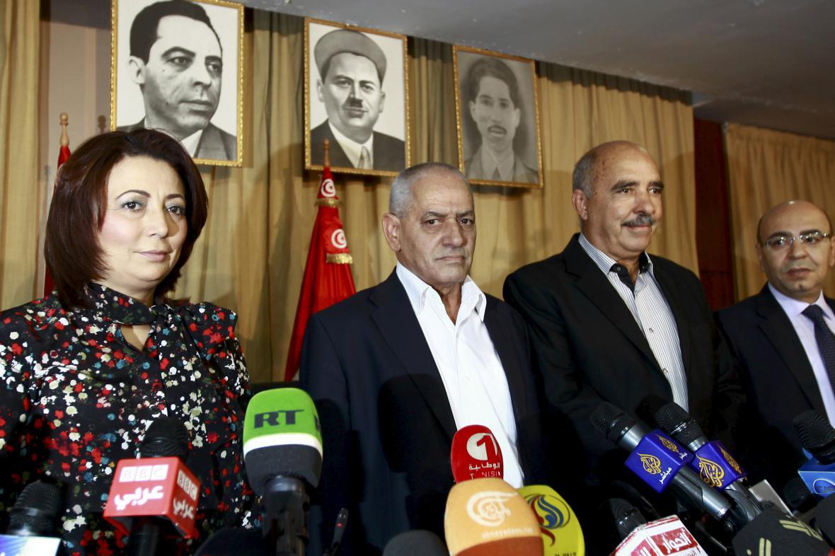 Nobelova cena míru pro tuniský kvartet