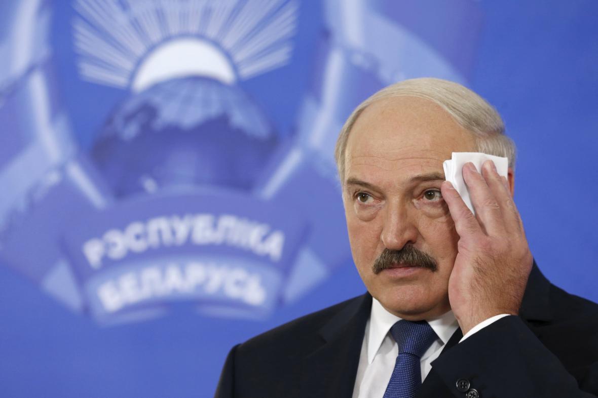 Znovuzvolený běloruský prezident Alexandr Lukašenko