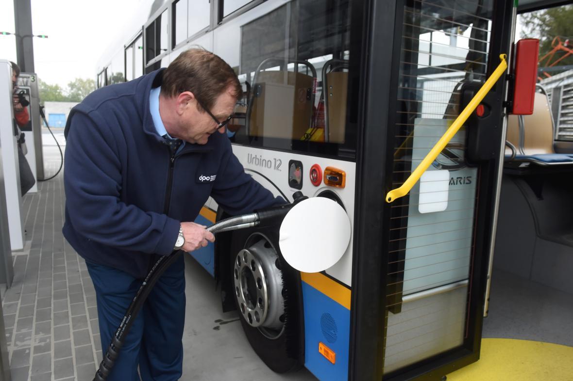 Nové autobusy na CNG v Ostravě