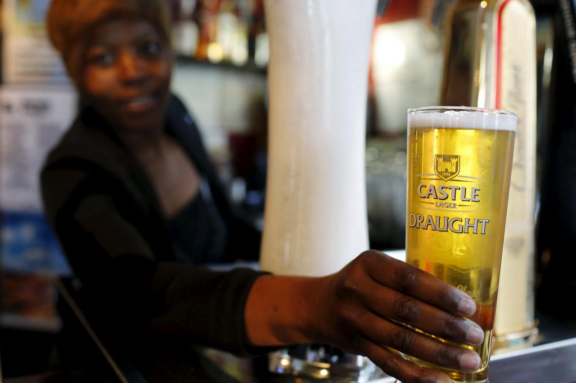 Castle Lager Draught, jihoafrické pivo v portfoliu SABMiller