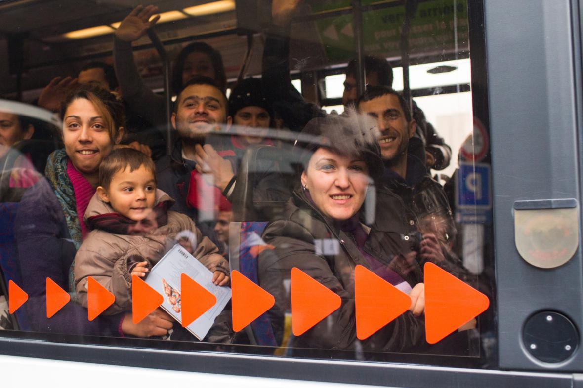 Albánští uprchlíci