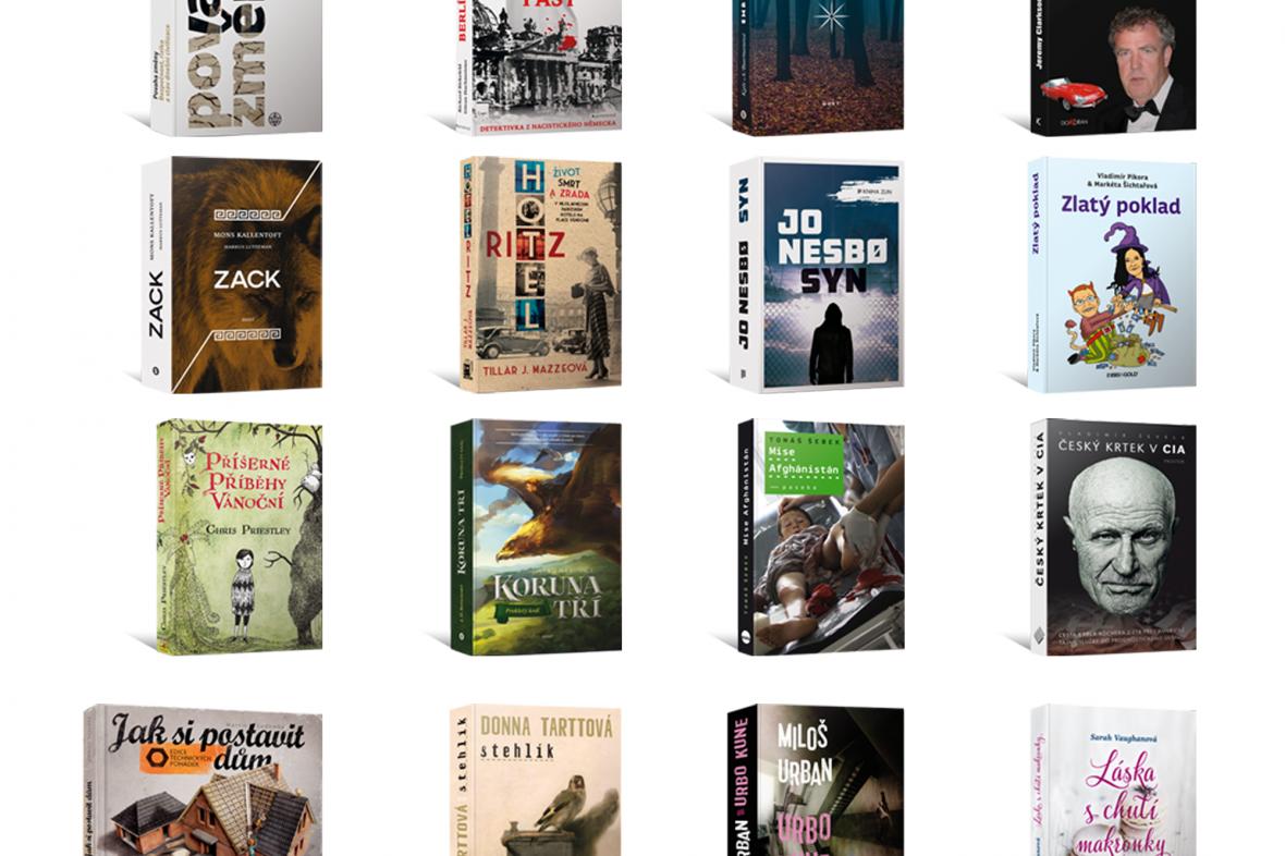 Obálky nových knih