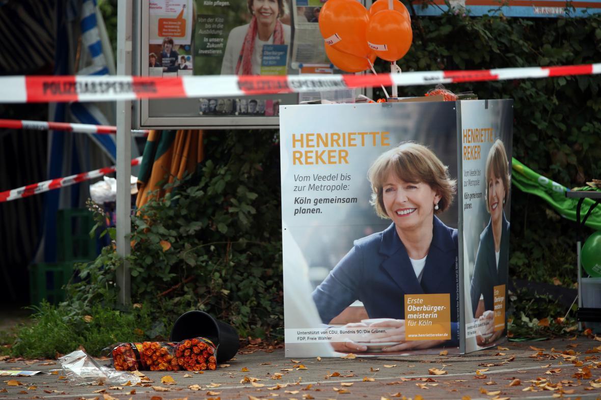 Rekerová byla pobodána den před volbou starosty Kolína nad Rýnem