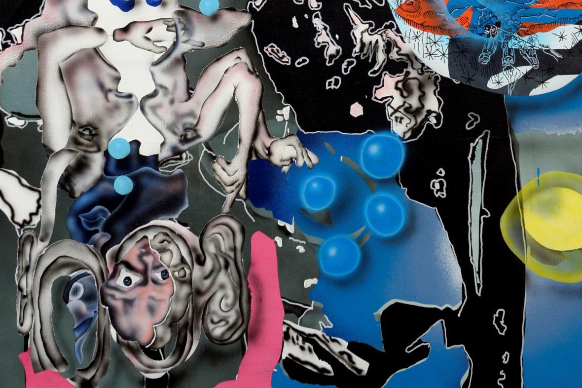 Z výstava obrazů Jakuba Matušky