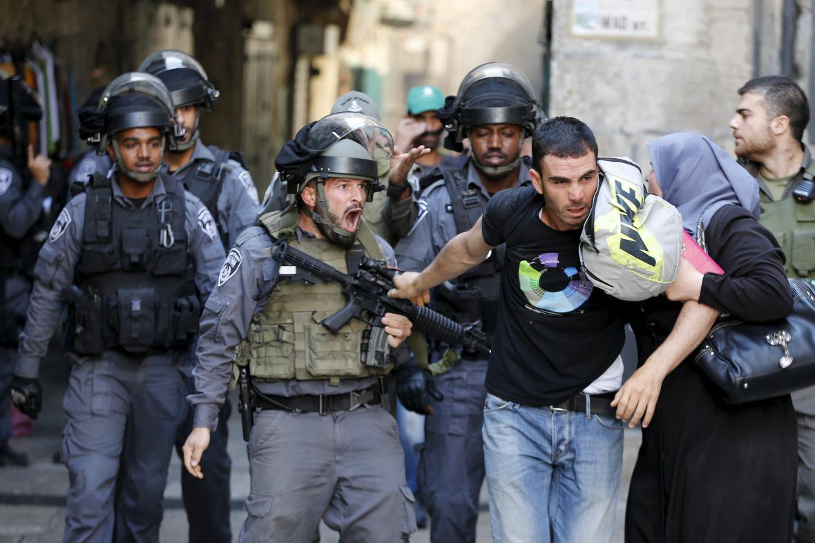 Bezpečnostní opatření v Jeruzalémě