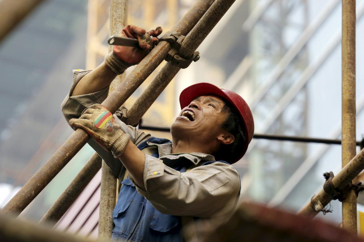 Čínský dělník
