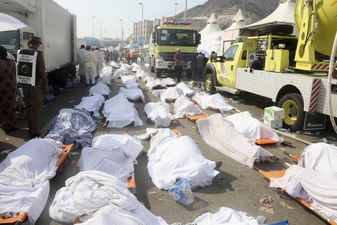 Oběti pouti do Mekky