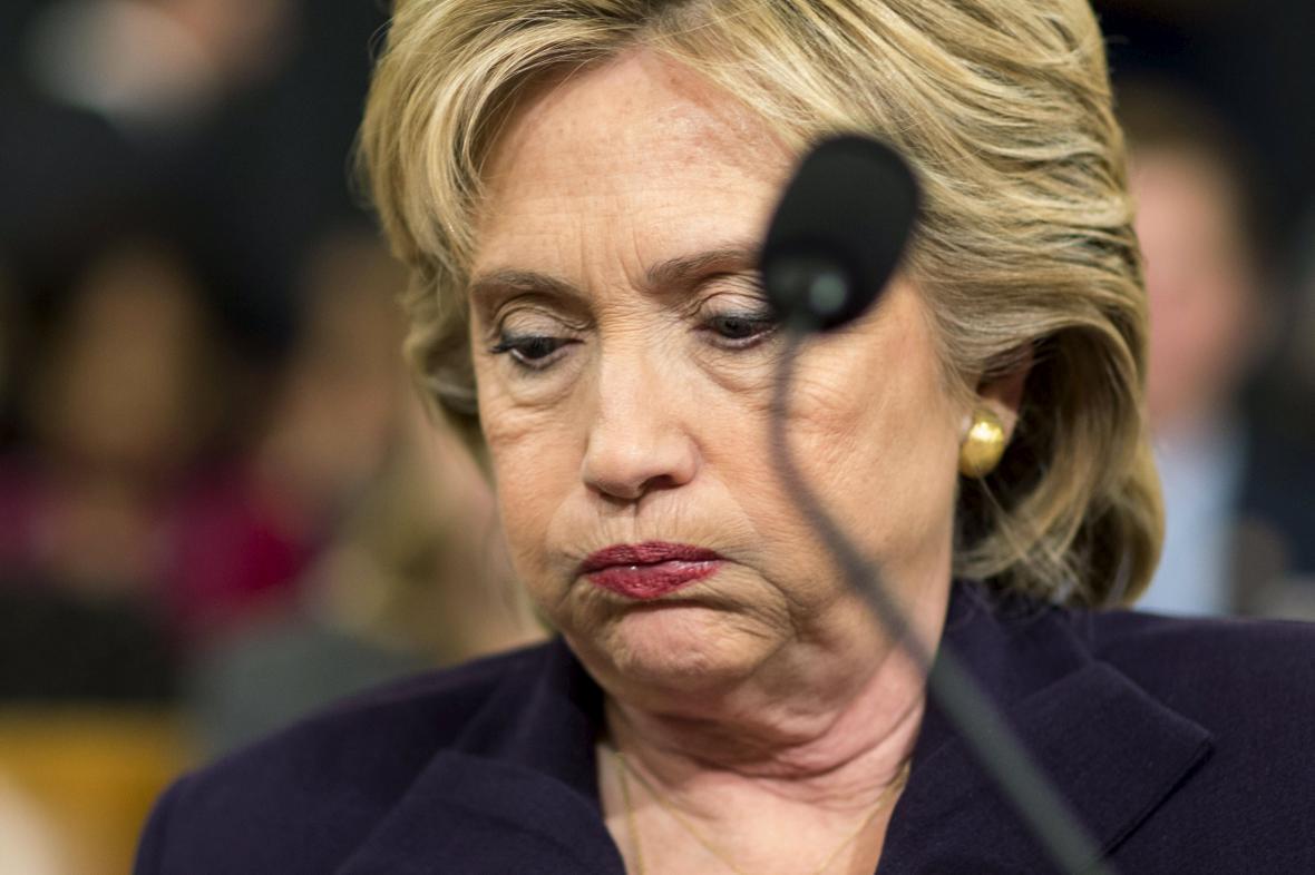 Hillary Clintonová při