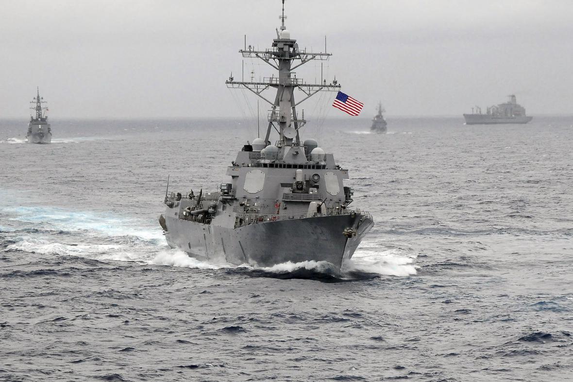 Torpédoborec USS Lassen