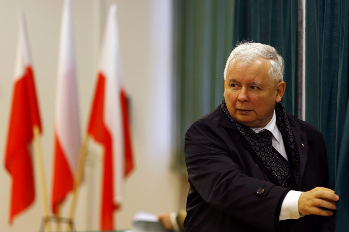 Předseda PiS Jaroslaw Kaczyński