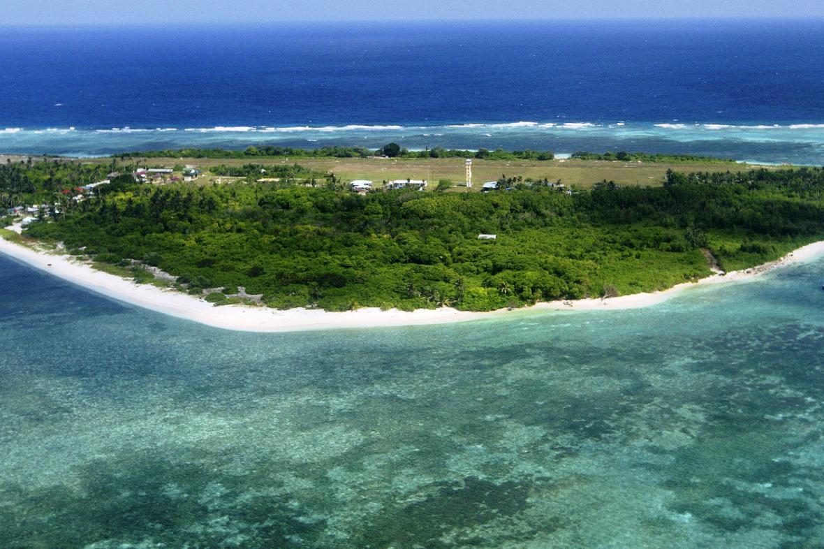 Ostrov Pagasa, součást Spratlyho souostroví