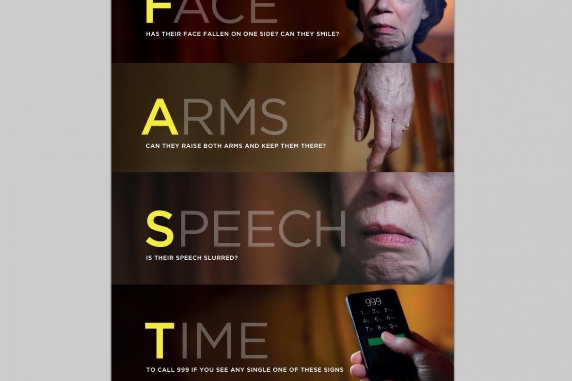Informační kampaň britské Národní zdravotní služby (NHS)
