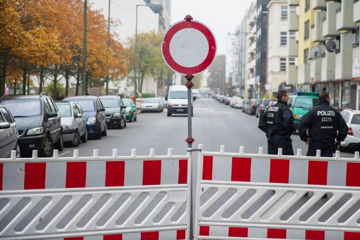 Kvůli nálezu pumy se musela evakuovat část berlínského Kreuzbergu
