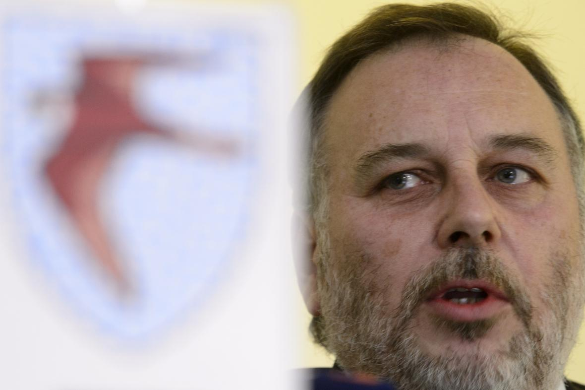 Šéf GIBS Ivan Bílek