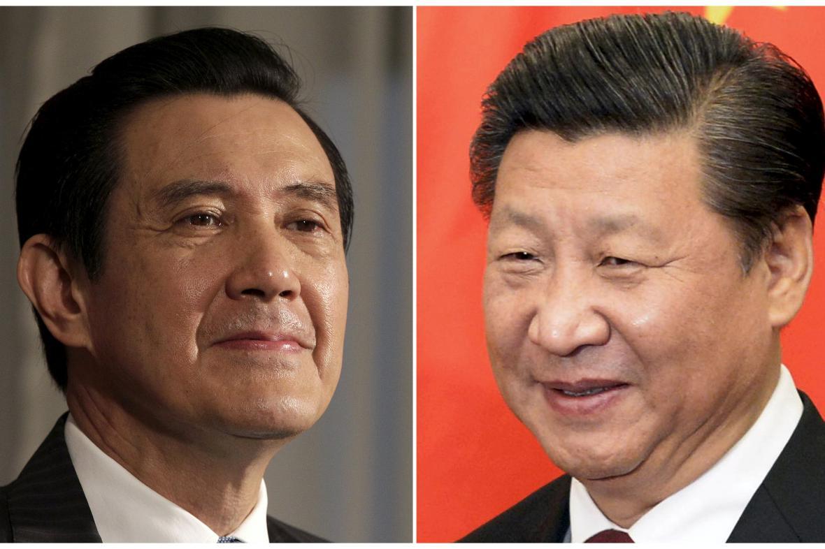 Ma Jing-ťiou a Si Ťin-pching