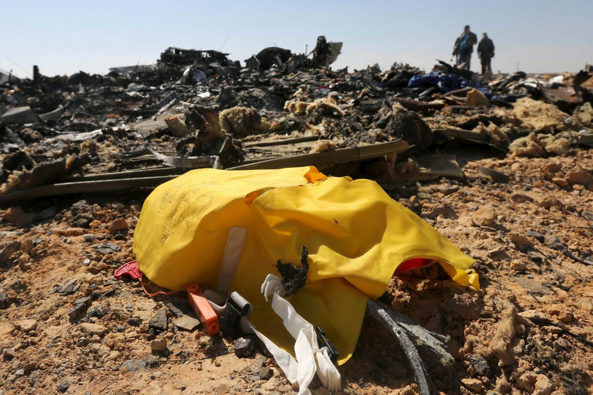 Nehoda ruského airbusu na Sinaji