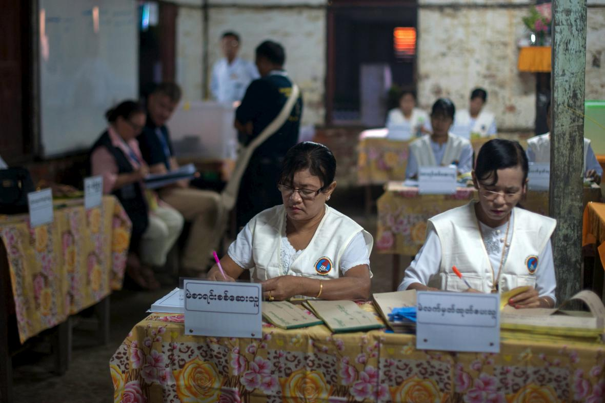 Parlamentní volby v Barmě