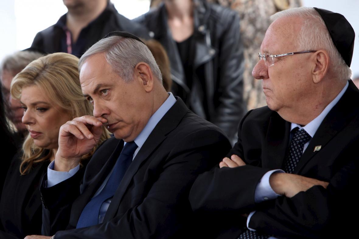 Benjamin Netanjahu a Reuven Rivlin