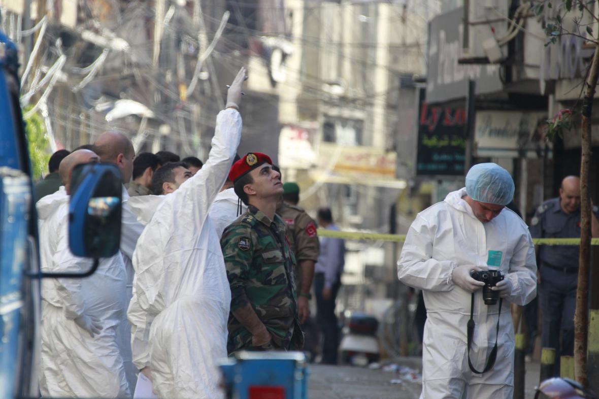 Vyšetřování teroristického útoku v Bejrútu