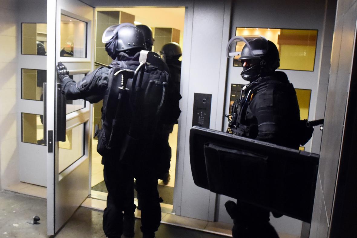 Zátah francouzské policie