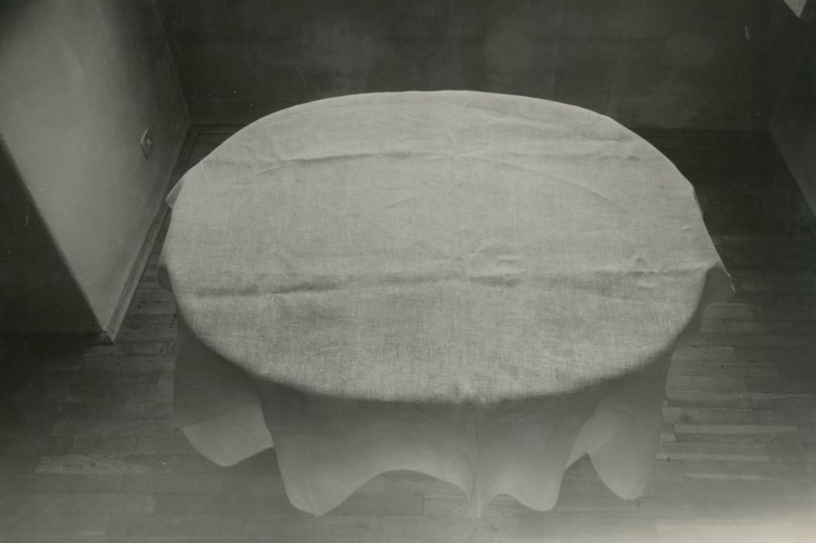 Jan Svoboda / Půdorys stolu, 1982