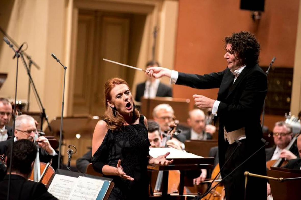 Magdalena Kožená a Robin Ticciati