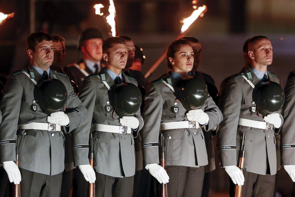 Oslava 60. výročí Bundeswehru