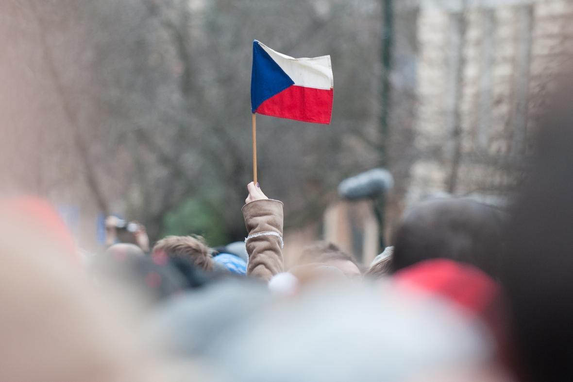 Studenti si na Albertově připomněli hodnoty 17. listopadu