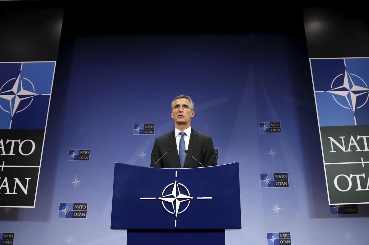 Jens Stoltenberg po schůzce velvyslanců NATO