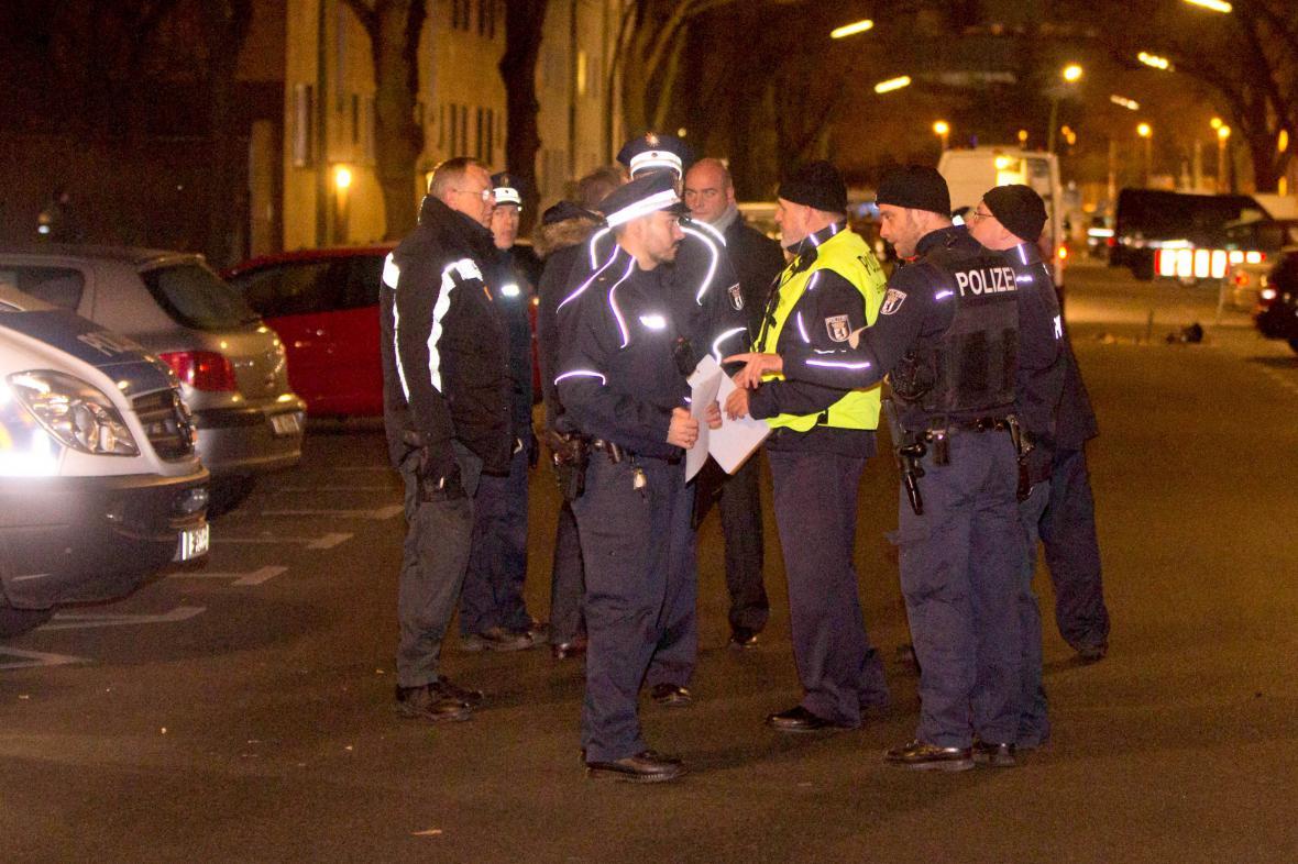 Zatčení islamistů v Berlíně