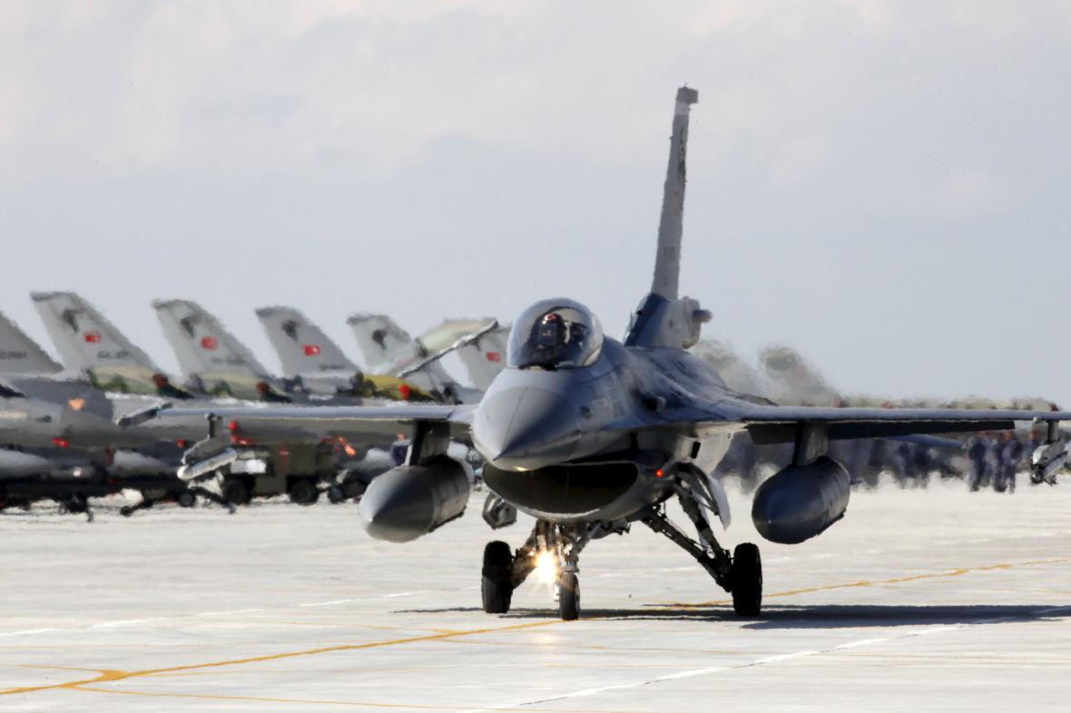 F-16 tureckého letectva
