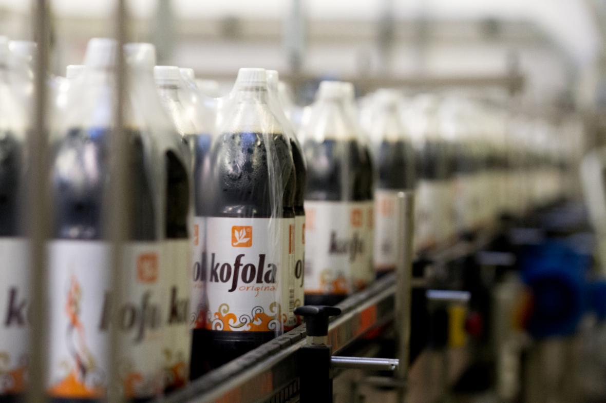 Výrobní linka Kofoly v Krnově