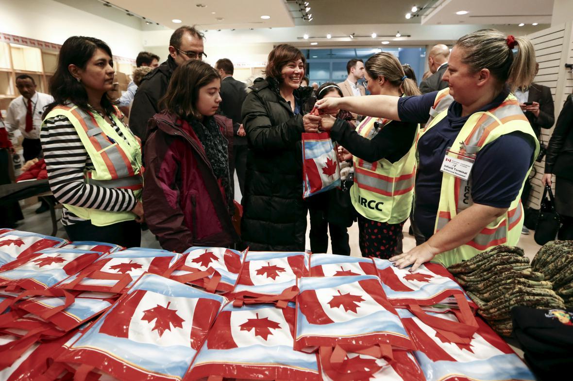 Kanada přivítala syrské uprchlíky