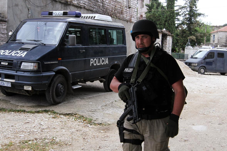 Albánská policie