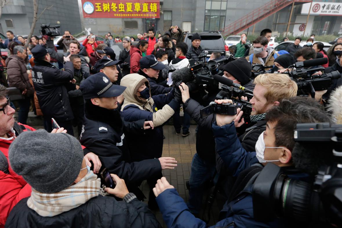 Soud s čínským advokátem Pchu Č'-čchiangem