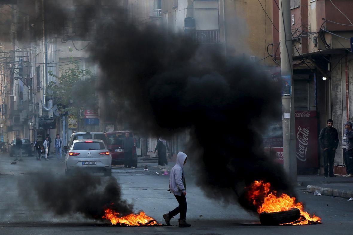 Nepokoje v Diyarbakiru