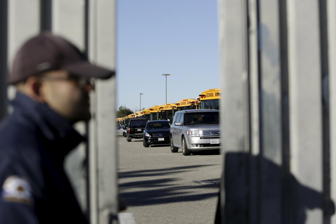 Školní autobusy v Los Angeles v úterý nevyjely
