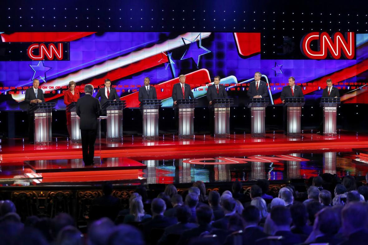 Televizní debata republikánských kandidátů