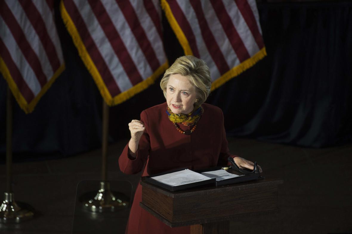 Hillary Clintonová představila svou strategii boje s terorismem