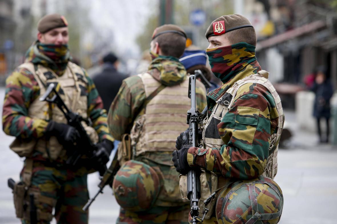 Bezpečnostní síly v Bruselu