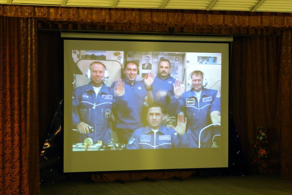 Současná posádka ISS