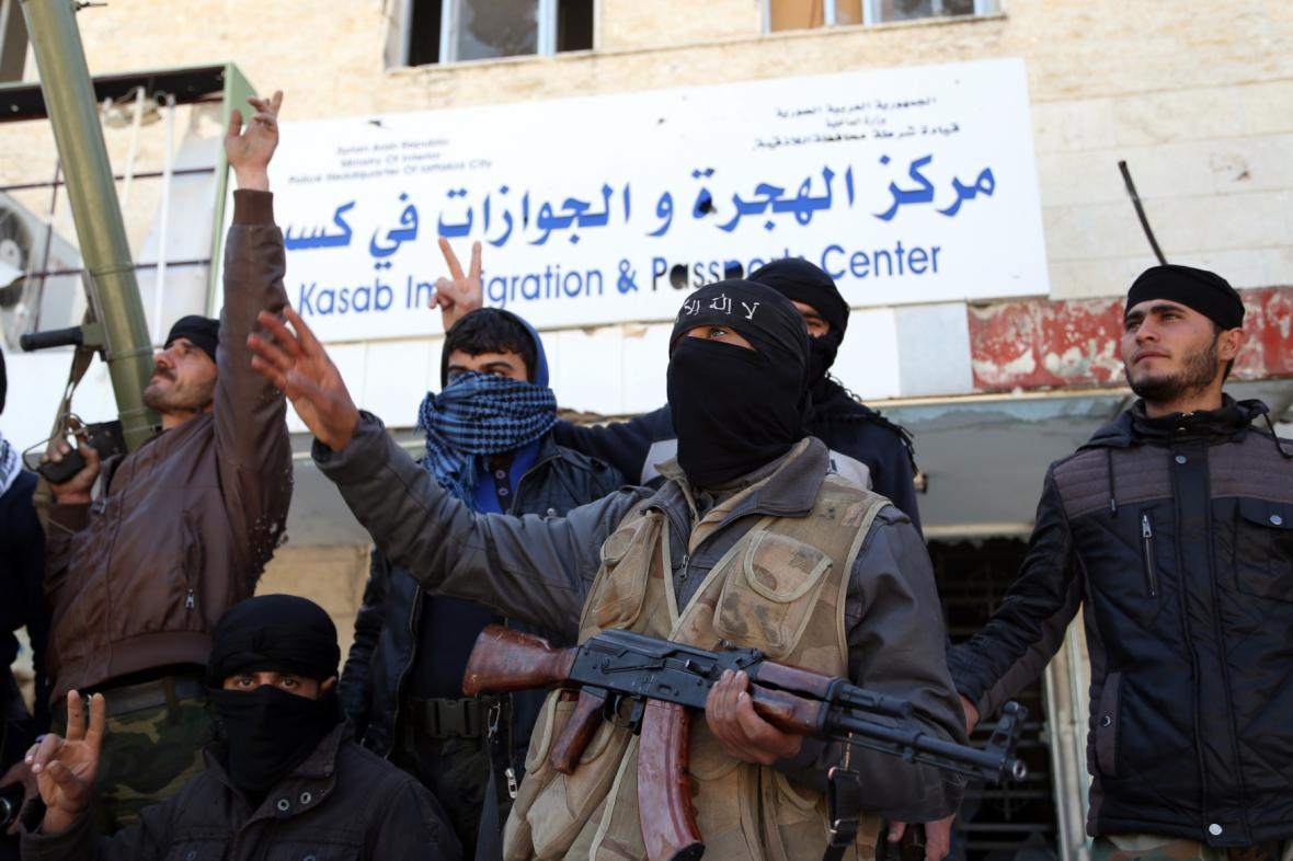 Syrská opozice - islamisté