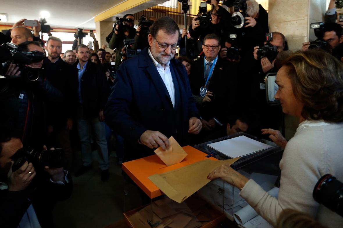 Mariano Rajoy už odvolil