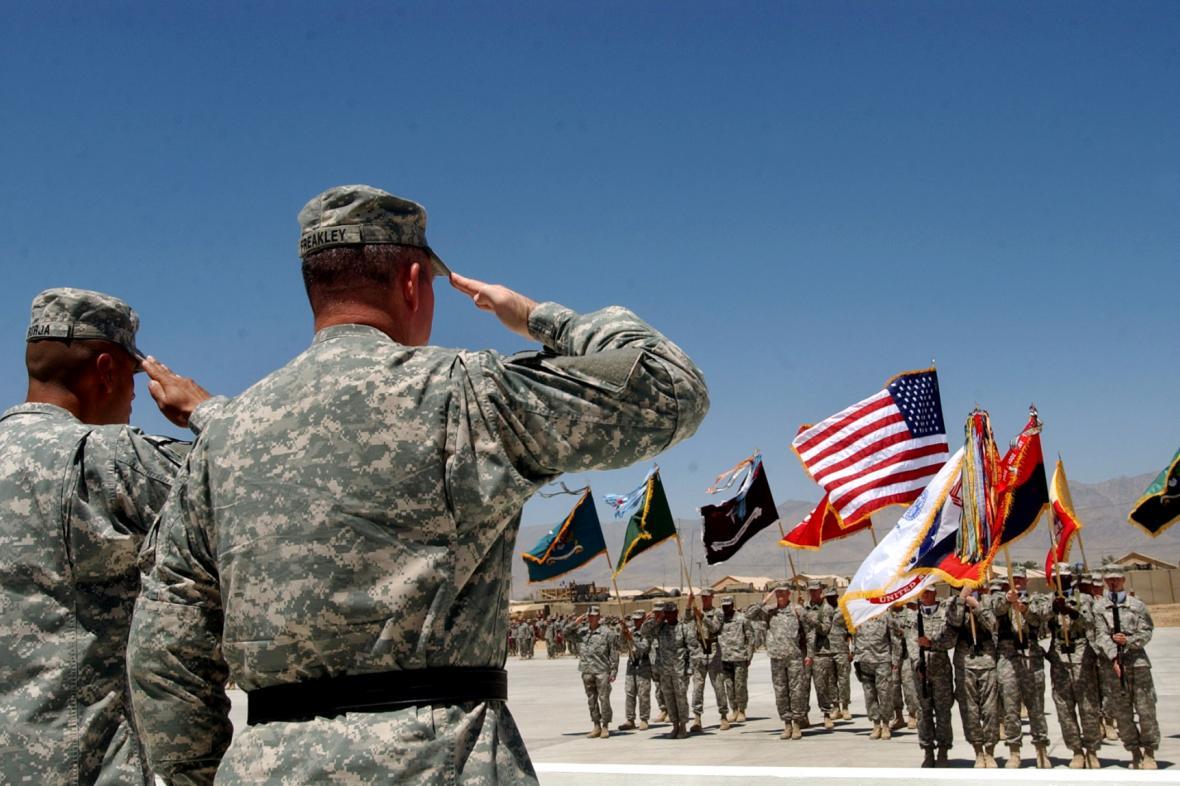 Základna Bagrám v Afghánistánu